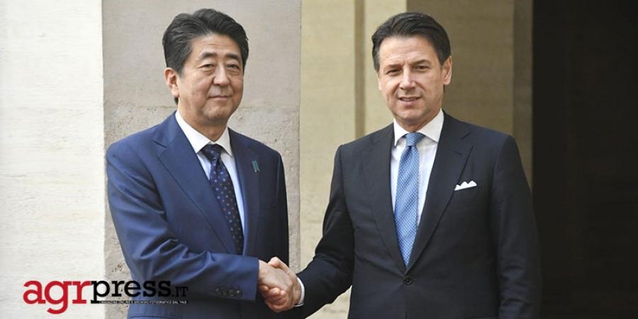 Abe, finalmente in vigore accordo economico Italia-Giappone