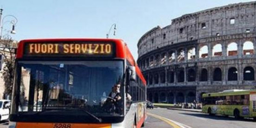 Sciopero Roma 11 maggio, stop ai mezzi pubblici fermi bus e metro