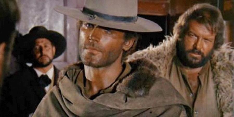 Terence Hill torna al western